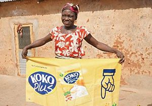 【取組事例】アフリカの子どもたちの栄養改善、公益財団法人味の素ファンデーション